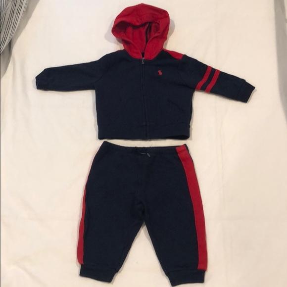 Ralph Lauren Other - Baby boys Ralph Lauren sweatsuit 9M